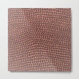 William Johnson: Circles Metal Print