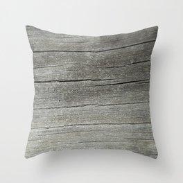 Ash Bark Throw Pillow