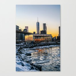 Winter in NY Canvas Print