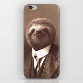 Gentleman Sloth #1 iPhone Skin