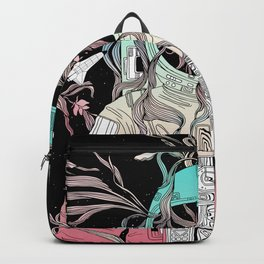 Life is Invading My Space Backpack