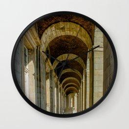 Enfilade left, Royal palace, Madrid Wall Clock