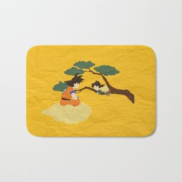 Father and Son Bath Mat