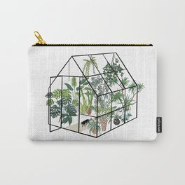 greenhouse with plants Carry-All Pouch