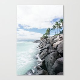 Edge of the Island Canvas Print