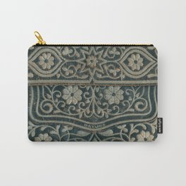 Embroidered Carry-All Pouch