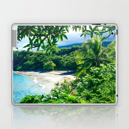 Hamoa Beach Hana Maui Hawaii Laptop & iPad Skin