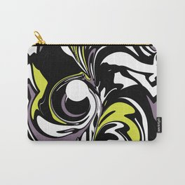 Abstract Fairy in Lime and Purple Carry-All Pouch