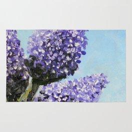 Springtime Lilacs Rug