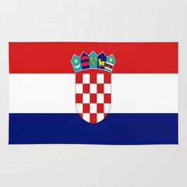 Flag of croatia -croatian, Hrvatska,croat,croacia,Zagreb,split,rijeka,osijek. Rug