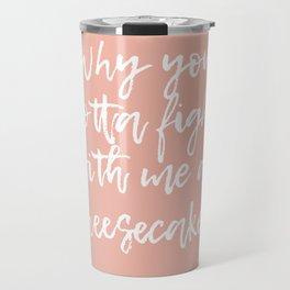 Childsplay (Pink) Travel Mug