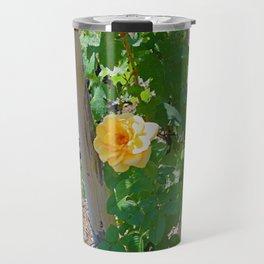 Rose In The Vine Travel Mug
