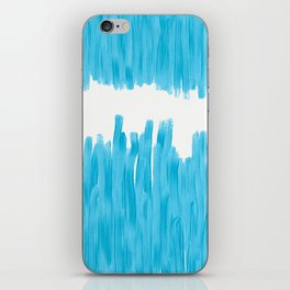 Sea of Blue Painted iPhone Skin
