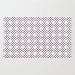 Elderberry Polka Dots Rug