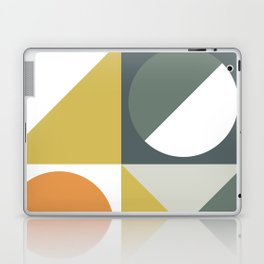 Mid Century Geometric 01 Laptop & iPad Skin