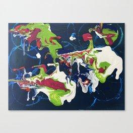 Crazy shapes Canvas Print