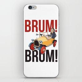 Brum Brum iPhone Skin