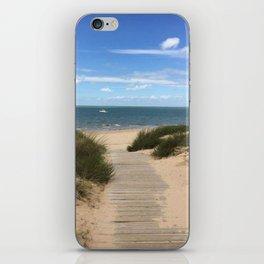 Breezy Seaside Path iPhone Skin