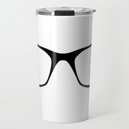 Pair Of Optical Glasses Travel Mug
