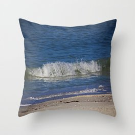 A Wave is But a Whisper Throw Pillow