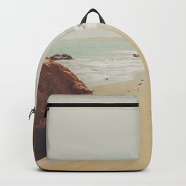 Beach Day - Ocean, Coast - Landscape Nature Photography Backpack