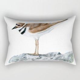 Killdeer Art 1 by Teresa Thompson Rectangular Pillow