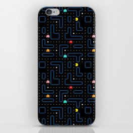 Pac-Man Retro Arcade Gaming Design iPhone Skin