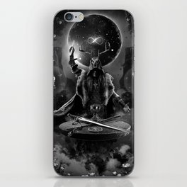 I. The Magician Tarot Card Illustration iPhone Skin