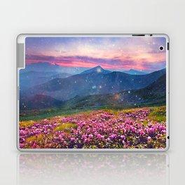 Blooming mountains Laptop & iPad Skin