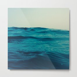 Sea Level Metal Print