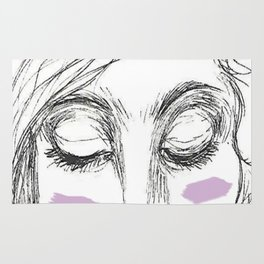 The Age of Recovery Warpaint Girl Rug