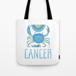 Cancer - water sign Tote Bag