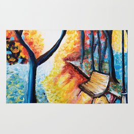 Autumn Sunset Rug