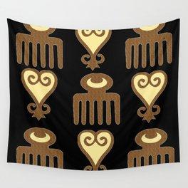 ADINKRA- FEMININE WISDOM Wall Tapestry