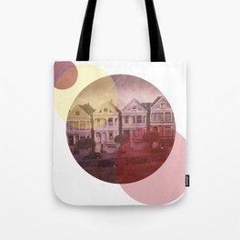 Full House Row Tote Bag