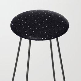 stars pattern Counter Stool