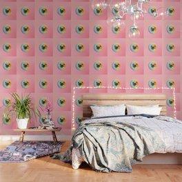 Unicorn Pug Pastel Donut Wallpaper