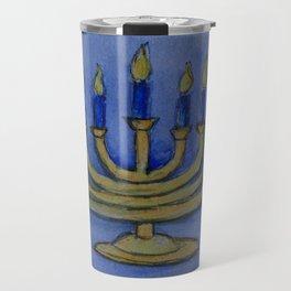 Happy Hanukkah WC161122c Travel Mug
