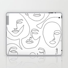 Her and Her Laptop & iPad Skin