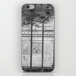 old gate & grave iPhone Skin