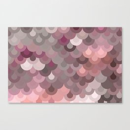 Pink Scales Canvas Print