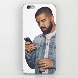 drake text iPhone Skin