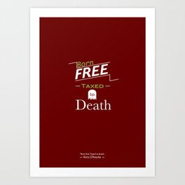 Quote Poster 8 Art Print