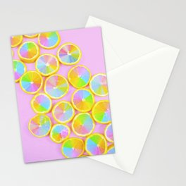 Unicorn Fruit Stationery Cards