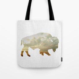 Bison and Plains Tote Bag