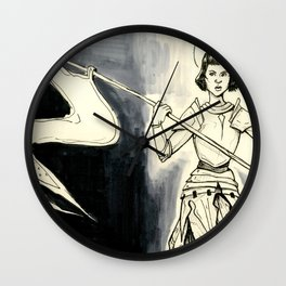 Jeanne D'Arc Wall Clock