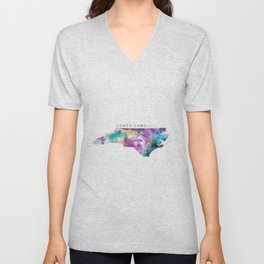 North Carolina Unisex V-Neck