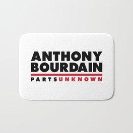 ANTHONY BOURDAIN - PARTS UNKNOWN Bath Mat