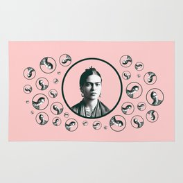Frida Kahlo design Rug