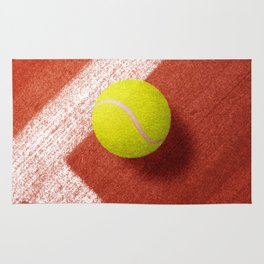 BALLS / Tennis (Clay Court) Rug